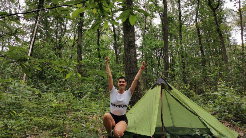 #SurvivorTour : je survis seule au fond des bois